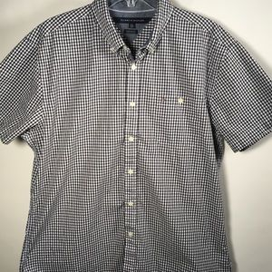 Tommy Hilfiger button-up short sleeve shirt